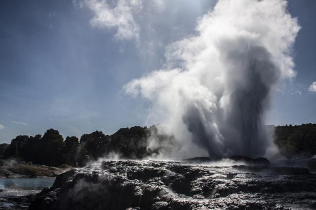 nieuw-zeeland - vulkanisch gebied